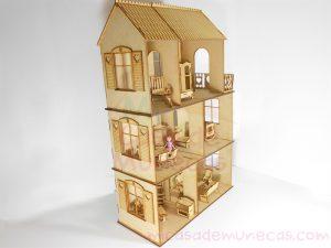casa de muñecas polly pocket corazones